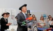 Ambassador Donald Lu at the 'U.S. History Through the Eyes of Teenagers' Event