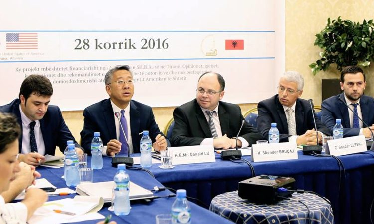 "Ambassador Donald Lu at the ""Preventing Violent Extremism and Radicalization"" Conference"